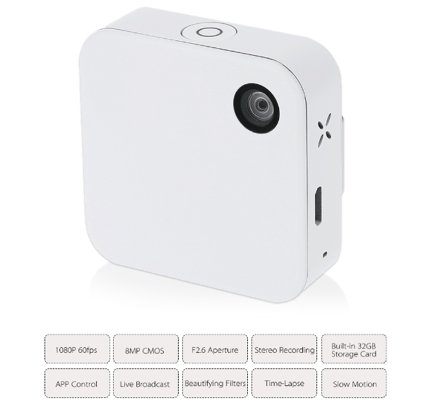Mini Clip-on camera
