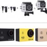 Waterproof Anti Shake Camera SJCAM® SJ400 $49
