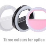 LED Ring Portable Self-Portrait for Smartphone FREE Delivery